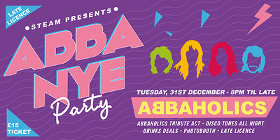 Steam's New Year's Eve: ABBA live performance at Steam in Bristol