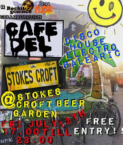 Café Del Stokes Croft at Stokes Croft Beer Garden in Bristol