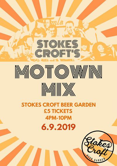 Stokes Croft's Motown Mix at Stokes Croft Beer Garden in Bristol