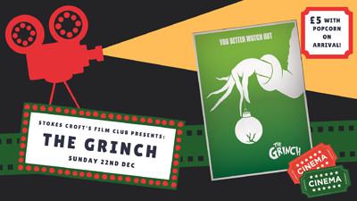 The Grinch Film Screening at Stokes Croft Beer Garden in Bristol