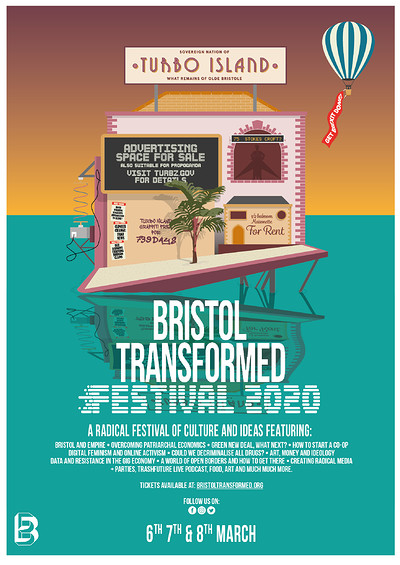 Bristol Transformed Festival 2020 at Stokes Croft + St Pauls in Bristol