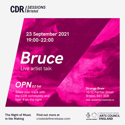 CDR Bristol with Bruce at Strange Brew in Bristol