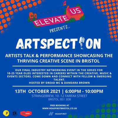 Elevate Us Presents: Artspection at Strange Brew in Bristol