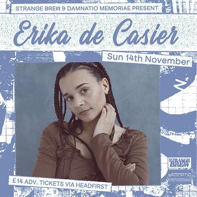 Erika de Casier LIVE  at Strange Brew in Bristol
