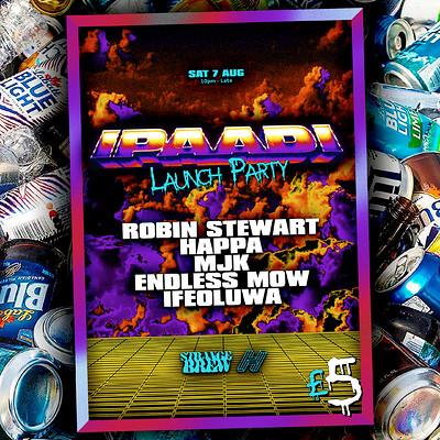 ipaadi release party w/ Robin Stewart & Happa  at Strange Brew in Bristol