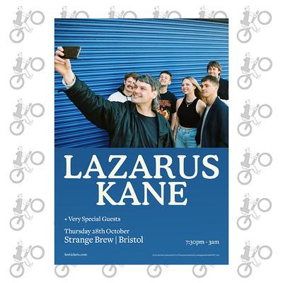 Lazarus Kane at Strange Brew in Bristol