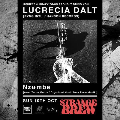 Lucrecia Dalt & Nzʉmbe at Strange Brew in Bristol