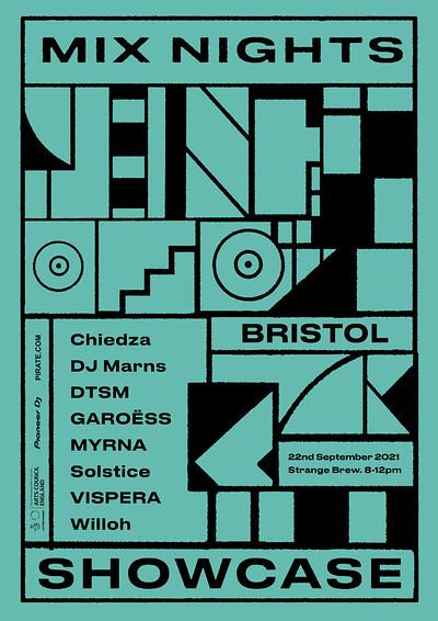 Mix Nights Bristol Term 18 Showcase  at Strange Brew in Bristol