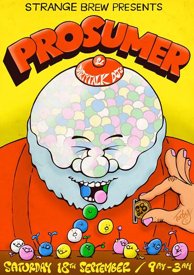Strange Brew presents: Prosumer & Dirtytalk DJs at Strange Brew in Bristol