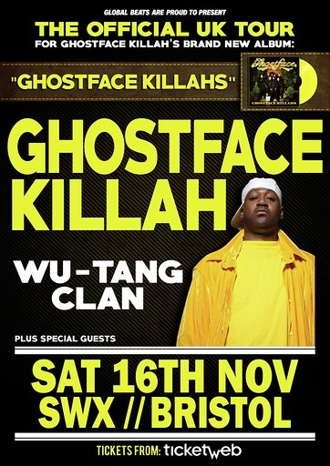 Ghostface Killah at SWX in Bristol