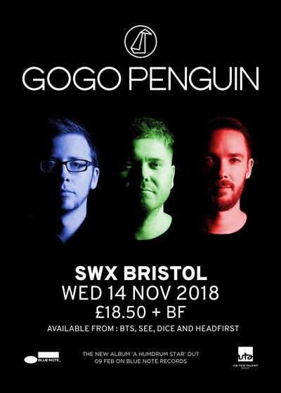 GoGo Penguin + Andreya Triana at SWX in Bristol