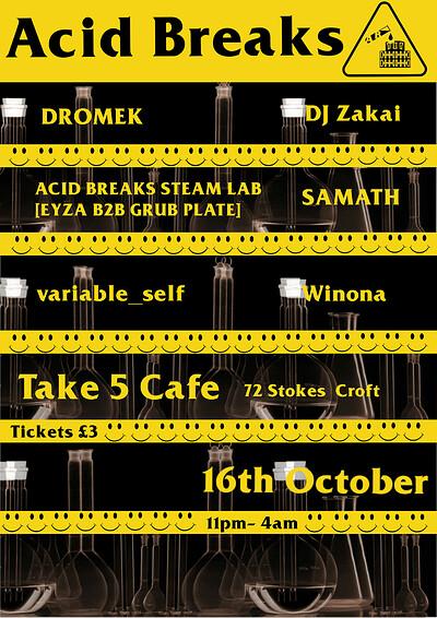 Acid Breaks #1  at Take Five Cafe in Bristol