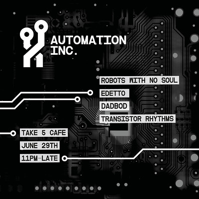 Automation Inc. at Take Five Cafe in Bristol