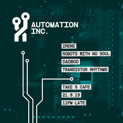 Automation Inc. 02 at Take Five Cafe in Bristol