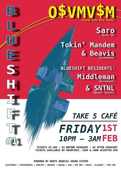 Blueshift #1:  at Take Five Cafe in Bristol