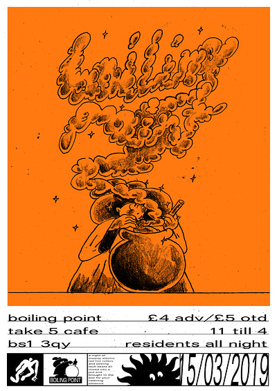 Boiling Point Vol.1 at Take Five Cafe in Bristol