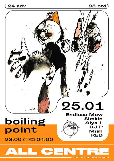 Boiling Point x All Centre Showcase at Take Five Cafe in Bristol