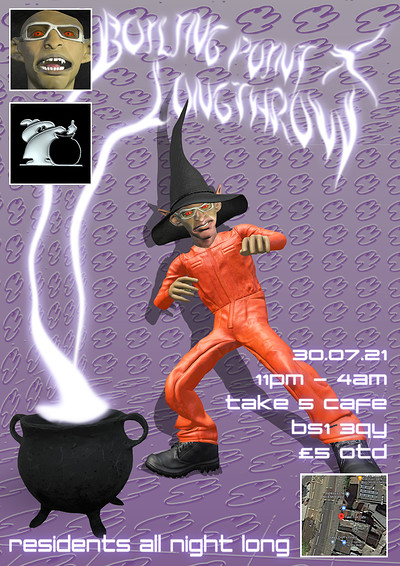 Boiling Point x Longthrow at Take Five Cafe in Bristol