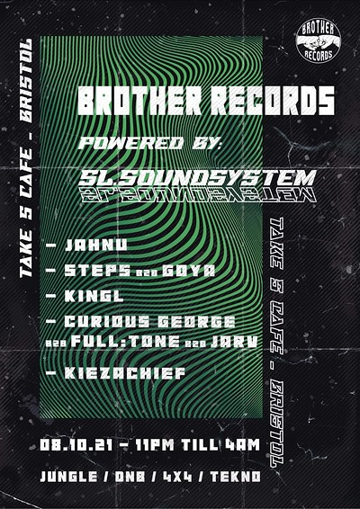 Brother Records  at Take Five Cafe in Bristol