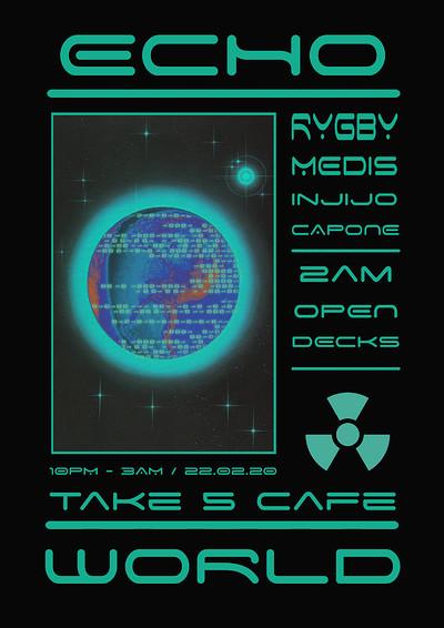 Echo World Presents: Rygby / Medis / Injijo / Capo at Take Five Cafe in Bristol
