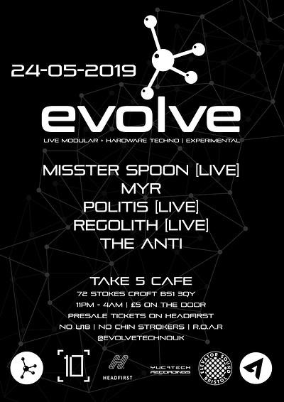 Evolve at Take Five Cafe in Bristol
