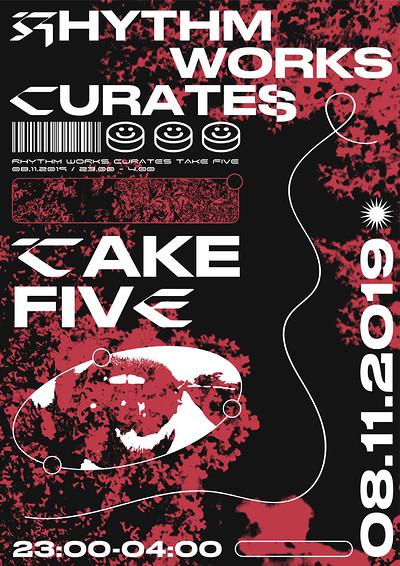 Rhythm Works Curates x Uppercut at Take Five Cafe in Bristol