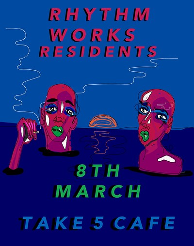 Rhythm Works Residents | Take 5 Cafe at Take Five Cafe in Bristol