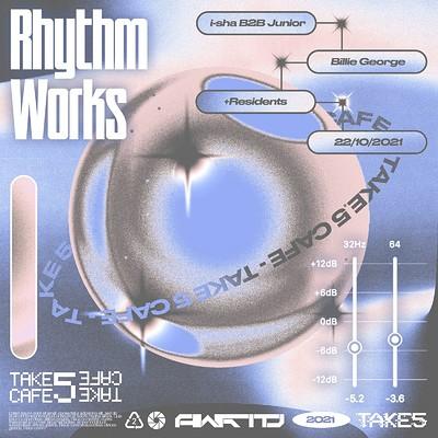 Rhythm Works W/ i-sha B2B Junior + Billie George at Take Five Cafe in Bristol