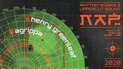 Rhythm Works x Uppercut: Agrippa & Henry Greenleaf at Take Five Cafe in Bristol