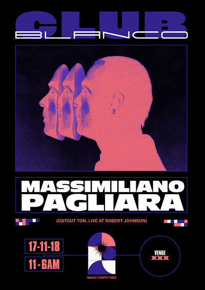 Club Blanco w/ Massimiliano Pagliara at TBA in Bristol