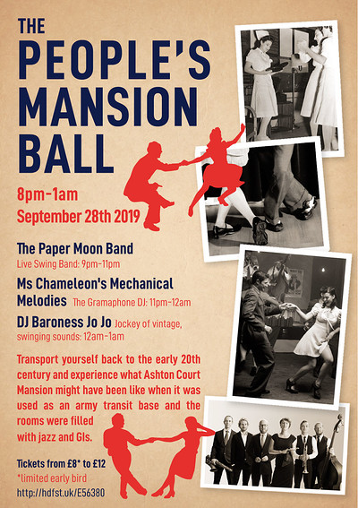 THE PEOPLE'S MANSION BALL at The Arts Mansion in Bristol