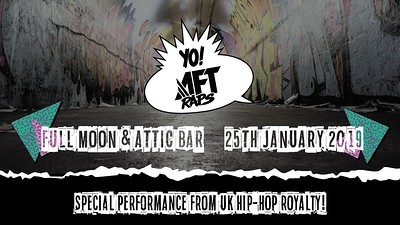 AFT RAPS #2 - Chester P at The Attic Bar in Bristol