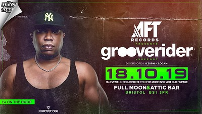 AFT Records #31: Grooverider at The Attic Bar in Bristol