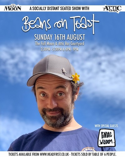 Beans on Toast  at The Attic Bar in Bristol