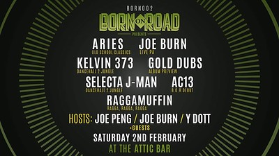 Born On Road 002 - Bristol at The Attic Bar in Bristol