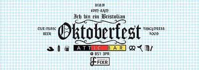 Bristol's Oktoberfest 2019 at The Attic Bar in Bristol