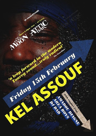 "Kel Assouf ""Black Tenere"" Album Tour at The Attic Bar in Bristol"