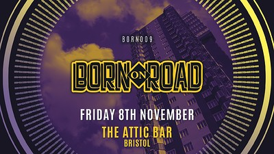 Kenny Ken & Friends - Born On Road 008 at The Attic Bar in Bristol