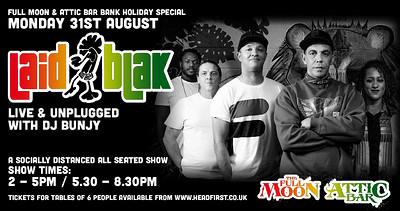 Laid Blak Live & Unplugged at The Attic Bar in Bristol