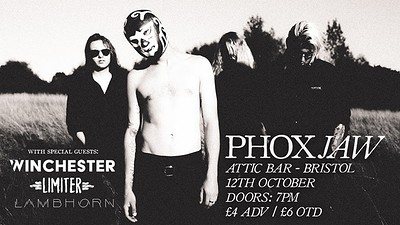 Phoxjaw Headline Show at The Attic Bar in Bristol
