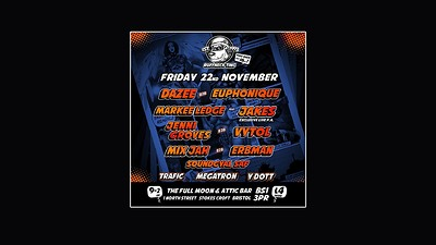 Ruffneck Ting Takeover! Part 16 at The Attic Bar in Bristol