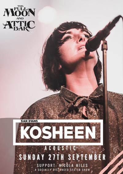 Sian Evans - Kosheen (Acoustic) at The Attic Bar in Bristol