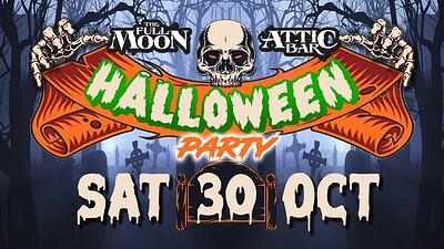 The Full Moon & Attic Bar Halloween Party at The Attic Bar in Bristol