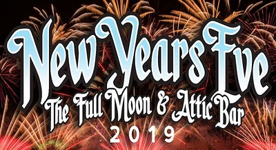 The Full Moon & Attic Bar New Years Eve Party 2019 at The Attic Bar in Bristol