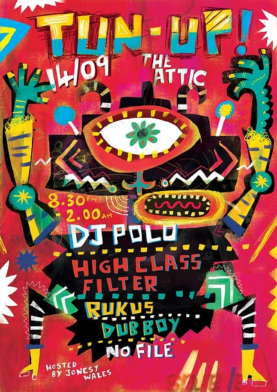 TUN UP! Ft. DJ Polo & High Class Filter at The Attic Bar in Bristol