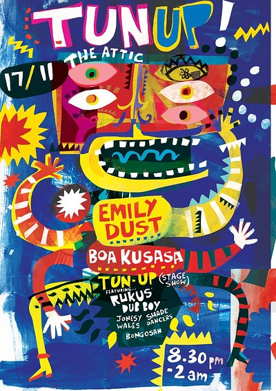 TUN UP! Ft. Emily Dust & Boa Kusasa at The Attic Bar in Bristol