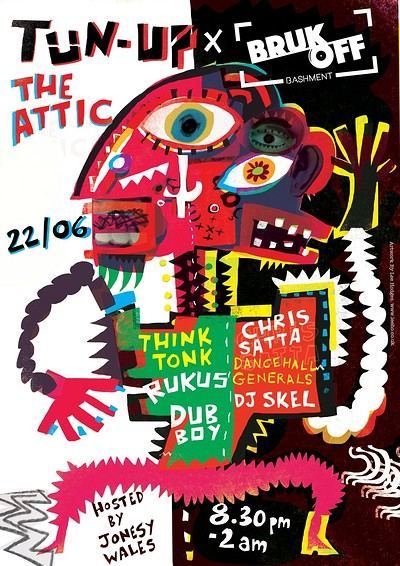 TUN UP x BRUK OFF - Dancehall Special at The Attic Bar in Bristol