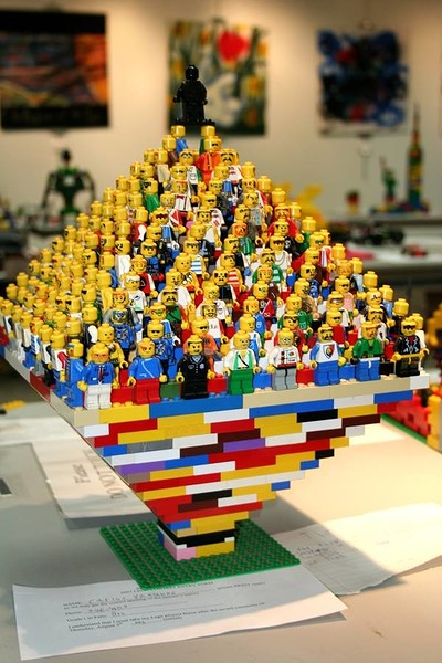 Lego Competition  at The Bag of Nails in Bristol