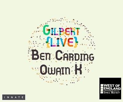 The Basement presents: Innate 003 - Gilbert (Live) at The Basement in Bristol
