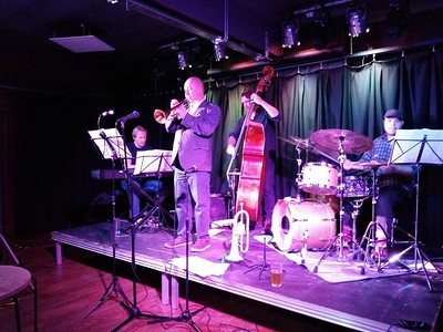Andy Hague's Double Standards CD Launch at The Be-bop Club in Bristol